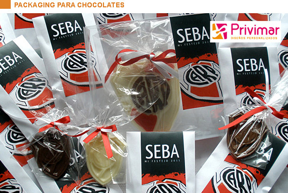 Packaging para chocolates