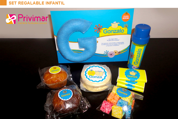 Set regalable infantil